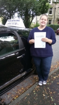 Massive congratulations to Adele who has passed her driving test today in Buxton at the first attempt and with only 6 driver faults Another one to join the exclusive club of passing both theory and driving test first time Itacute;s been an absolute pleasure taking you for lessons and helping you achieve your goal Enjoy your independence and stay safe