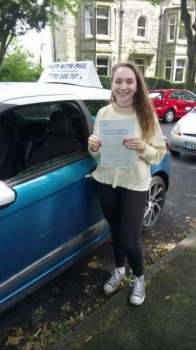 Out with the green and in with the pink Huge congratulations to Ailsa who passed her driving test today in Buxton and with only 4 driver faults Well done itacute;s been an absolute pleasure taking you for lessons enjoy your independence and stay safe