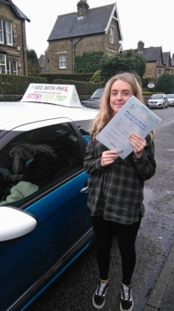 Yayyy another 1st time pass :<br />