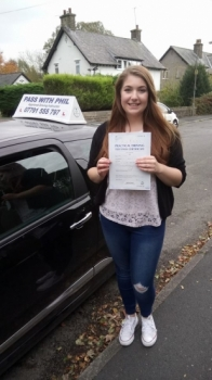 Huge congratulations go to Amy who passed her driving test today26th October 2017 in Buxton and with only 3 driver faults Itacute;s been an absolute pleasure taking you for lessons Enjoy your independence and stay safe and have fun in yr new car