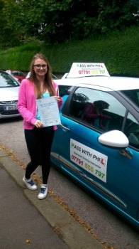 Congratulations to Antonia who passed her driving test in Buxton today 29th August A great drive and only 2 minor faults Its been an absolute pleasure teaching you to drive Enjoy your independence have fun and stay safe