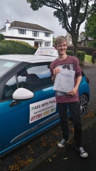 Huge congratulations to Brad who passed his driving test this morning 8th Julyin Buxton and at the first attempt and with only 4 driver faults He joins the exclusive club of passing both theory and practical first time Itacute;s been an absolute pleasure taking you for lessons and helping you achieve your goal Enjoy your independence and stay safe
