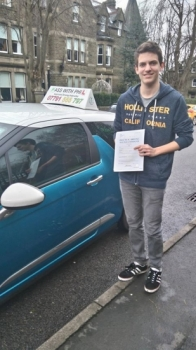 Another 1st time pass today this time for Dan who had a great drive and only got 6 driver faults He joins the exclusive club of passing both theory and practical tests first time Itacute;s been an absolute pleasure taking you for lessons and helping you achieve your goal Enjoy your independence and stay safe