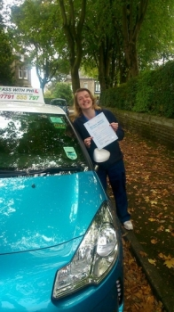 Massive congratulations to Debra on passing her driving test today 29th September in Buxton A great drive and only 4 minor faults So proud of you and you have worked so hard for this well done Enjoy your independence and stay safe
