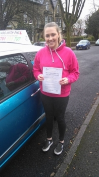 Massive congratulations to Ella who has just passed her driving test in Buxton at the first attempt and with only 1 driver fault amazing drive well done<br />