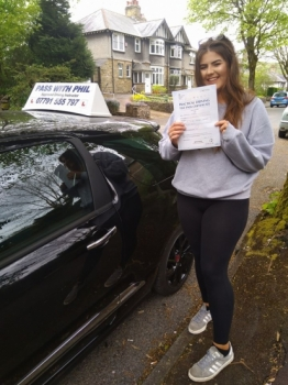 Huge congratulations go to Frankie who passed her driving test today at the first attempt and with only 3 driver faults She joins the exclusive club of passing both theory and driving test first time Itacute;s been an absolute pleasure taking you for lessons enjoy your independence and stay safe