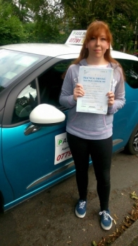 Massive congratulations go to Hannah who passed her driving test this morning in Buxton 17th August and at the first attempt with only 3 faults She joins that exclusive club of passing both theory and driving test first time Itacute;s been an absolute pleasure meeting you and helping you achieve your goal Enjoy your independence and stay safe