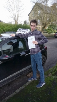 A fantastic first time pass for Isaac today in Buxton25th Januaryand with only 4 driver faults A great drive well done He joins the exclusive club of passing both theory and driving test first time Itacute;s been an absolute pleasure taking you for lessons and helping you achieve your goal Enjoy your independence and stay safe
