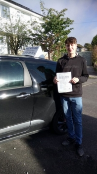 Huge congratulations go to Jack who passed his driving test this morning in Buxton 6th October well done Itacute;s been an absolute pleasure taking you for lessons and helping you achieve your goal Enjoy your independence and stay safe