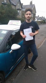 Huge congratulations to Jack who finally overcame the nerves to pass in Buxton today well done bud a great drive<br />