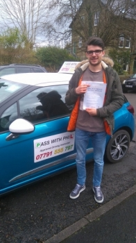 Out with the green and in with the pink Congratulations to Jack who passed his driving test this morning in Buxton 5th April at the first attempt and with only 4 driver faults He joins the exclusive club of passing both theory and driving tests first time Itacute;s been an absolute pleasure taking you for lessons Enjoy your independence and stay safe