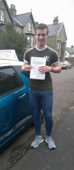 Another first time pass today for Jamie<br />