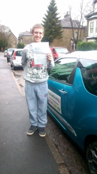 Congratulations go to Jamie who passed his driving test this morning 28th Jan in Buxton at the first attempt and with only 5 minor faults Jamie joins that exclusive club of passing both theory and driving test first time A great controlled drive today well done Its been an absolute pleasure meeting you and helping you achieve your goal Enjoy your independence and stay safe all the best