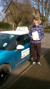 Massive congratulations to Karl who passed his driving test today in Buxton and with only 1 driver fault A fantastic drive and fully deserved well done Itacute;s been an absolute pleasure meeting you and helping you achieve your goal Enjoy your independence and stay safe