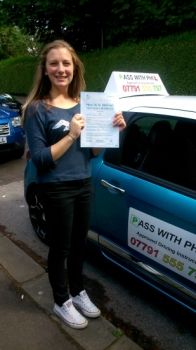Massive congratulations to Lauren who passed her driving test this morning 30th June at the first attempt and with only 4 driver faults She joins the exclusive group who have passed both theory and driving test first time Its been great helping you to learn to drive Stay safe and enjoy your independence