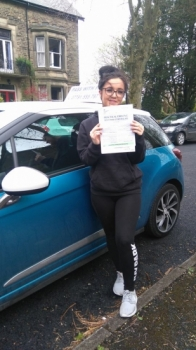 Massive congratulations to Martha who passed her driving test today in Buxton27th April and with only 3 driver faults Youacute;ve worked really hard for that pass and Iacute;m so proud of you Itacute;s been an absolute pleasure taking you for lessons and helping you achieve your goal Enjoy your independence and stay safe
