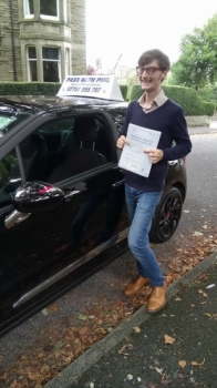 Huge congratulations go Matt who passed his driving test today in Buxton at the first attempt and with only 2 driver faults A milestone for me as Matt becomes my 100th test pass since I started as a driving instructor<br />