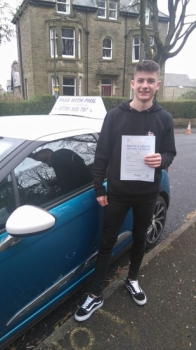 Massive congratulations to Max who passed his driving test today in Buxton7th April and with only 5 driver faults Itacute;s been an absolute pleasure taking you for lessons and helping you achieve your goal Enjoy your independence and stay safe