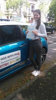 Out with the green and in with the pink Congratulations to Rachael who passed her driving test today in Buxton at the first attempt and with only 5 faults She joins the exclusive club having passed theory and practical first time Itacute;s been an absolute pleasure taking you for lessons and helping you achieve your goal Enjoy your independence and stay safe