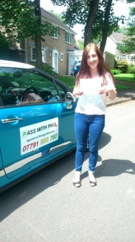 Congratulations to Rhianna who passed her driving test today 12th June with only 3 driver faults A great effort you were brilliant Its been an absolute pleasure teaching you to drive and will hopefully see you soon for some motorway tuition Well done again enjoy your independence stay safe and take care