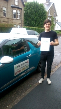 Congratulations to Rob who passed his driving test today 27th June at the first attempt and with only 4 driver faults A great drive Rob well done Its been fantastic meeting you and helping you learn to drive Stay safe and enjoy your independence See you soon