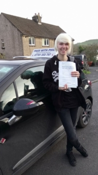 Congratulations to a very nervous Sammy who has passed her driving test today in Buxton9th November Itacute;s been an absolute pleasure taking you for lessons Enjoy your independence and stay safe best of luck
