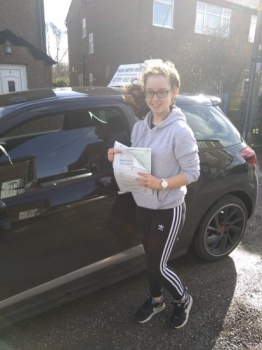 FIRST TIME PASS 😁<br />