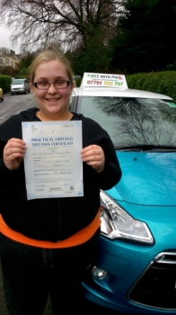 Congratulations to Amanda who passed her driving test in Buxton this morning It was a great drive and you have worked so hardEnjoy your independence and safe driving Well done again